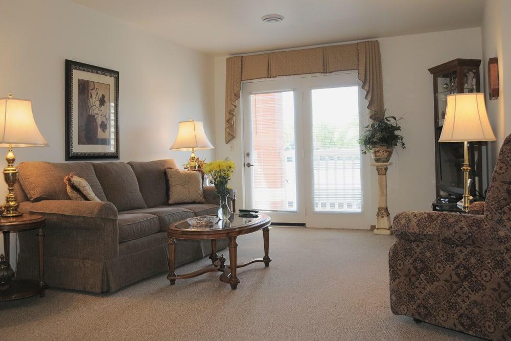 living room in residence
