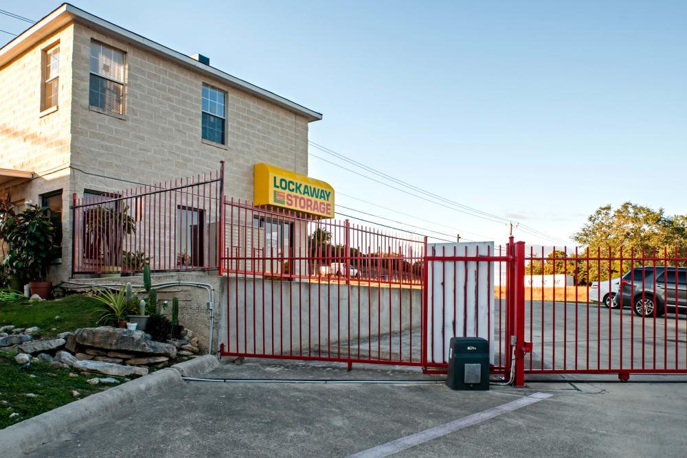 Exterior and Gate at San Antonio, Texas near Lockaway Storage