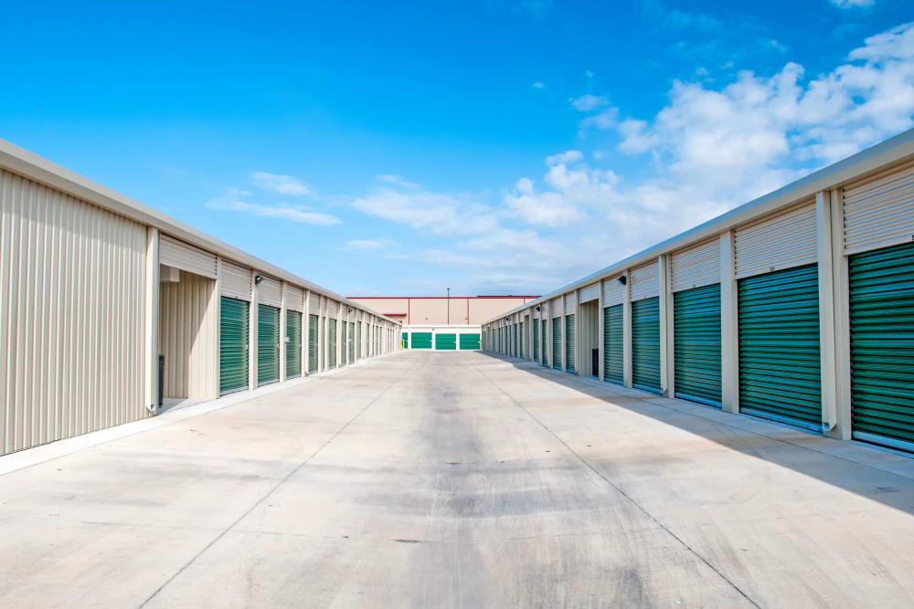 Exterior Storage Units at San Antonio, Texas near Lockaway Storage