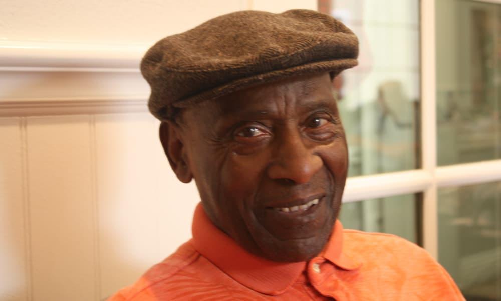 Senior man at Regency Park Astoria in Pasadena, California