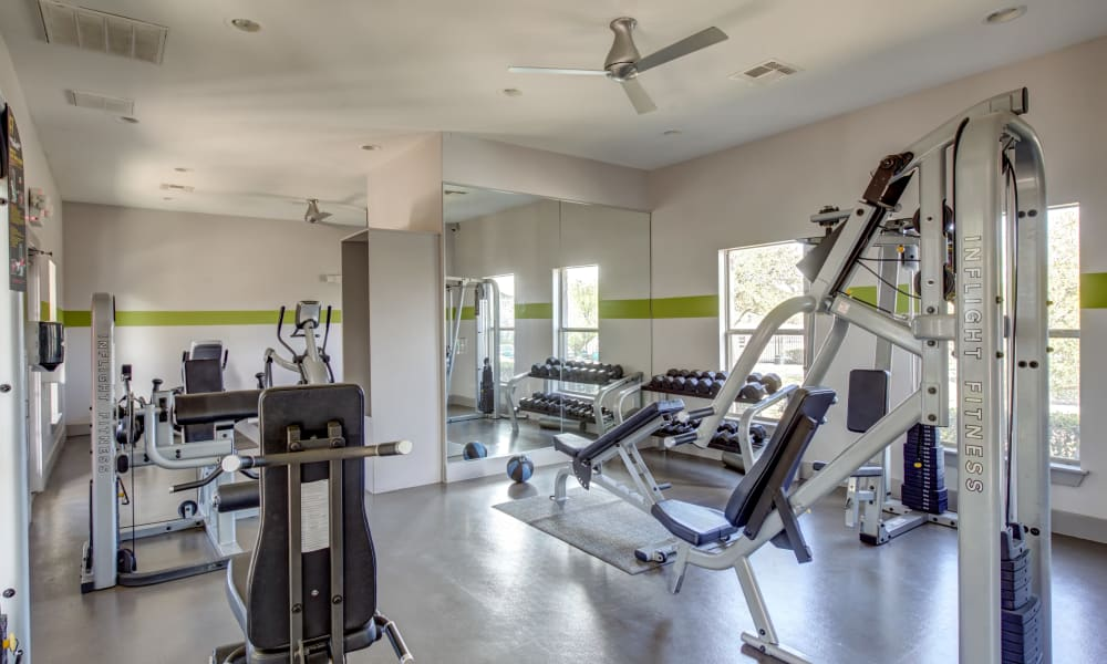 Enjoy Apartments with a Gym at Arya Grove in Universal City, Texas