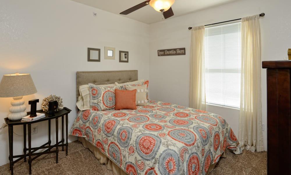 Bedroom at The Patriot Apartments in El Paso, Texas