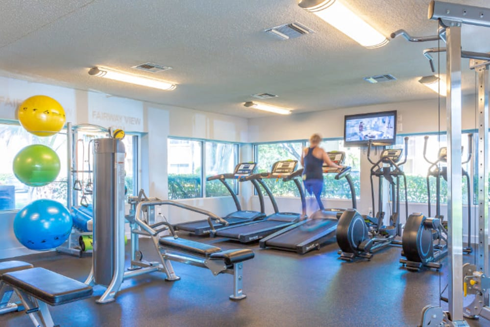 Our Apartments in Hialeah, Florida offer a Gym