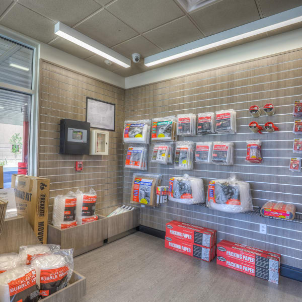 Packing supplies sold at StorQuest Self Storage in Aurora, Colorado