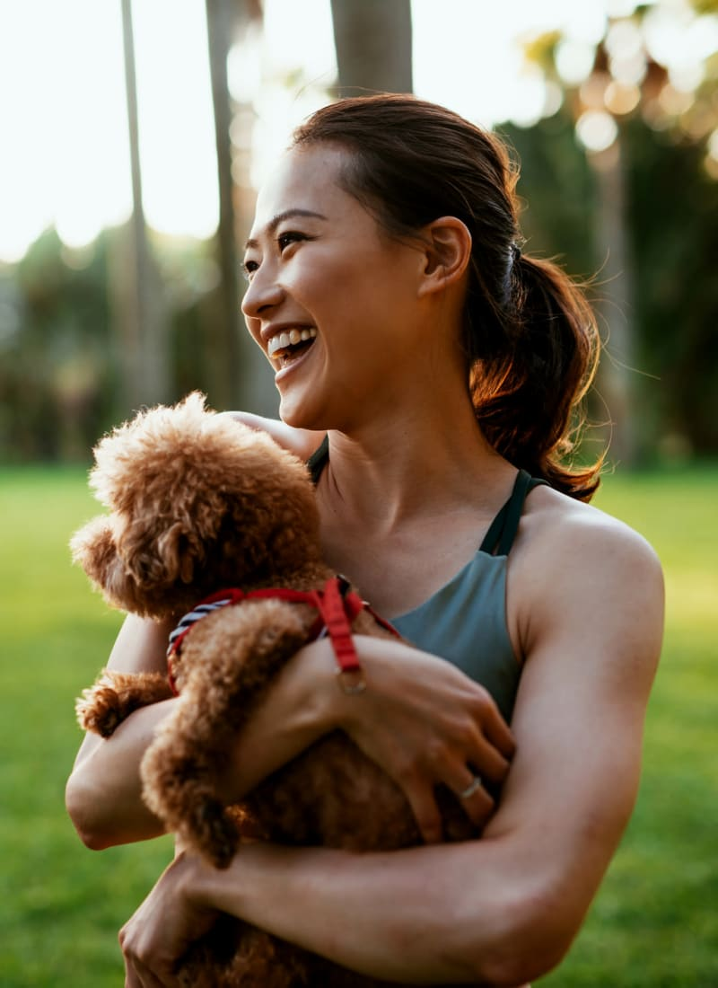 View our pet policy at Marquis Parkside in Austin, Texas