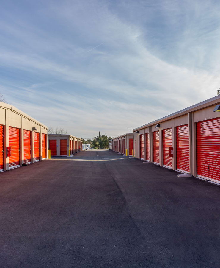 Outdoor units at StorQuest Express Self Service Storage in Cape Coral, Florida