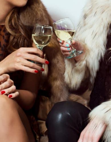 Women enjoying wine at Altitude in Atlanta, GA