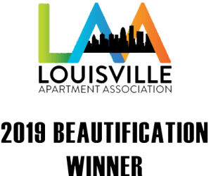 Special award from louisville apartment association given to Shadow Ridge in Louisville, Kentucky