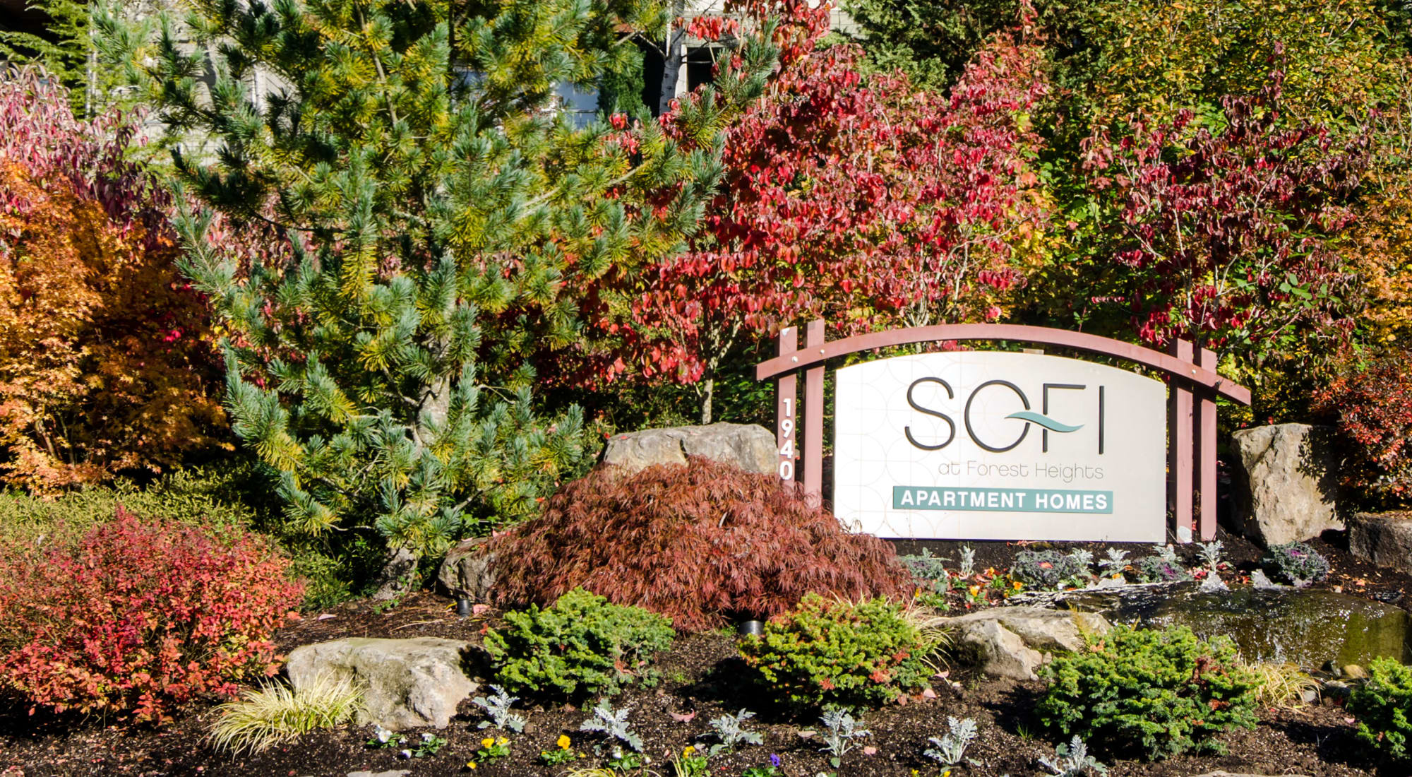 Neighborhood at Sofi at Forest Heights in Portland, Oregon