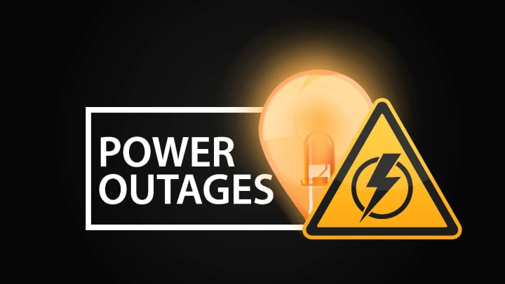 Power Outage Warning