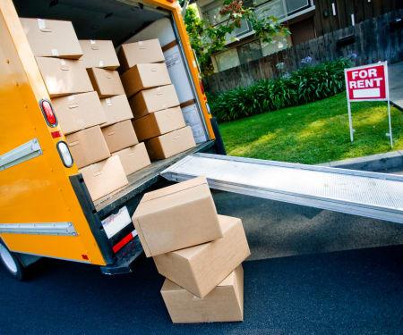 Moving truck rentals at BIG Storage in Nampa, Idaho