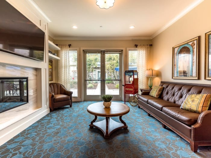 Georgues living room at Pacifica Senior Living Mission Villa in Daly City, California