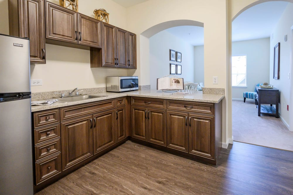 Kitchen at Harmony at Brentwood in Brentwood, Tennessee