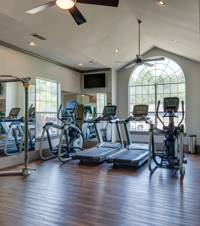 Fitness area at Legacy at Meridian in Durham