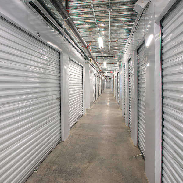 Climate-controlled indoor storage units at StorQuest Self Storage in Glendale, Arizona