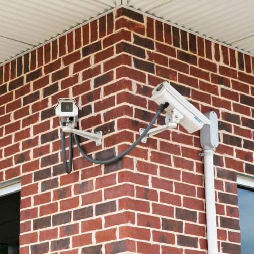 Security cameras at Red Dot Storage in Eight Mile, Alabama