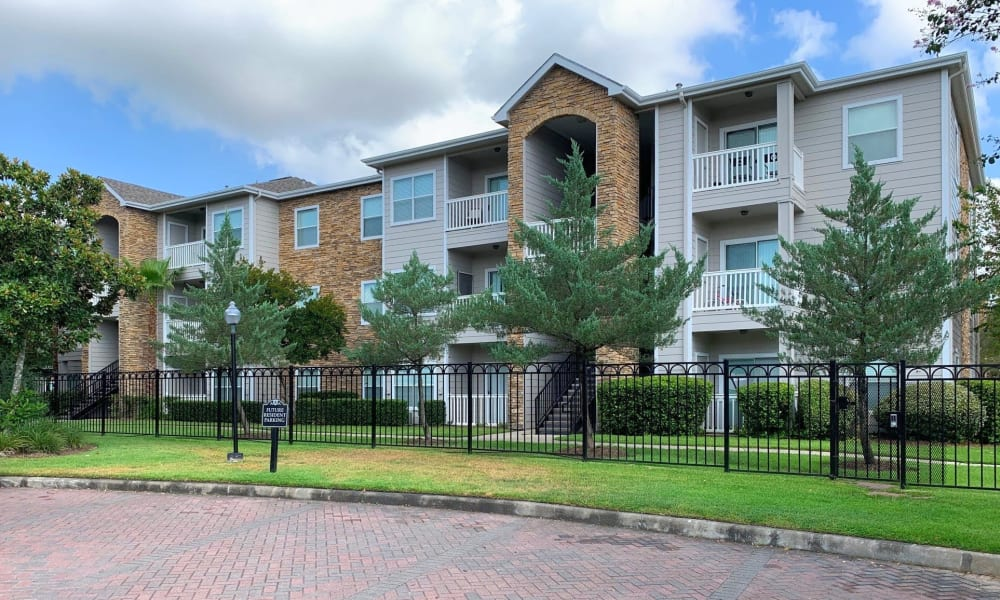 Exterior of Apartments in Katy, Texas