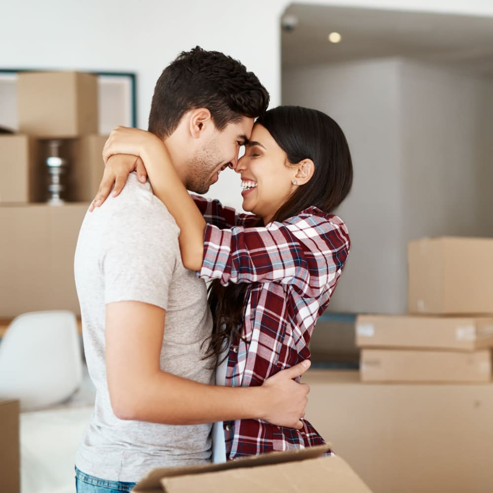 A couple is excited about their new home in Fort Wright, Kentucky