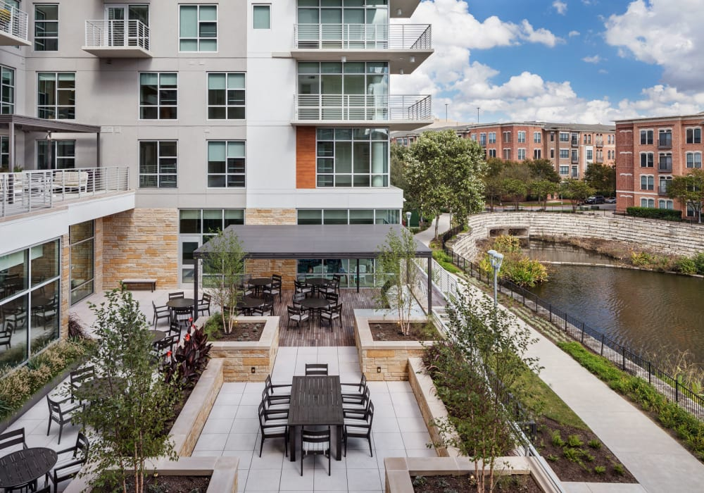Independent living at The Village at The Triangle in Austin, Texas