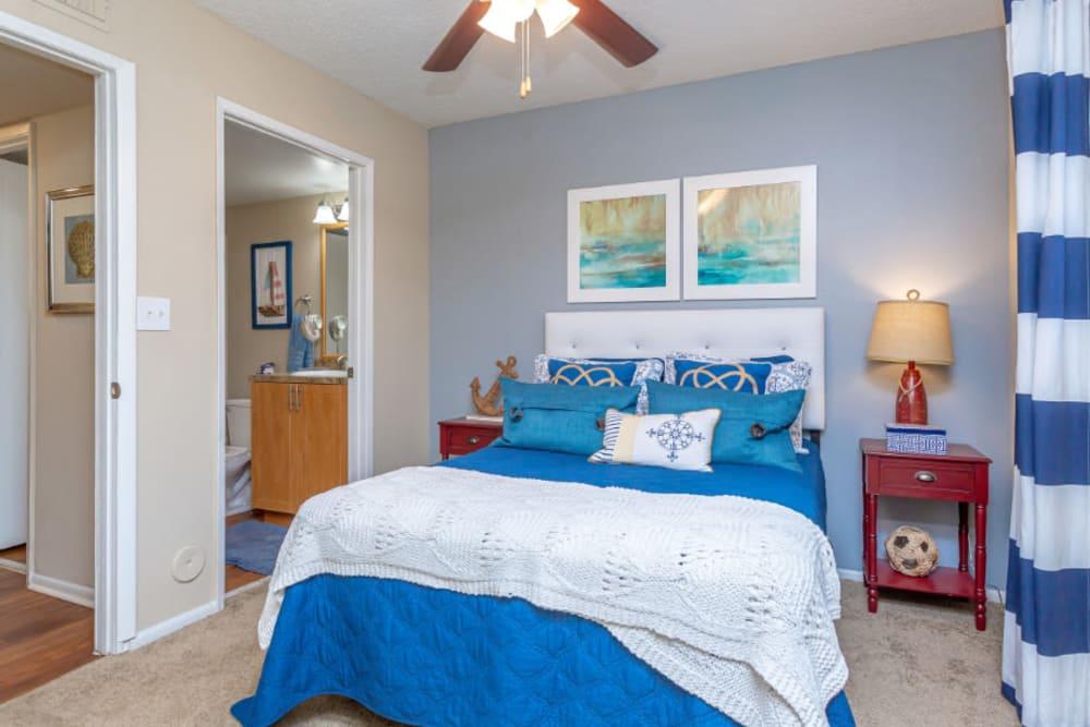 Cozy Bedroom at Fairway View Apartments in Hialeah, Florida