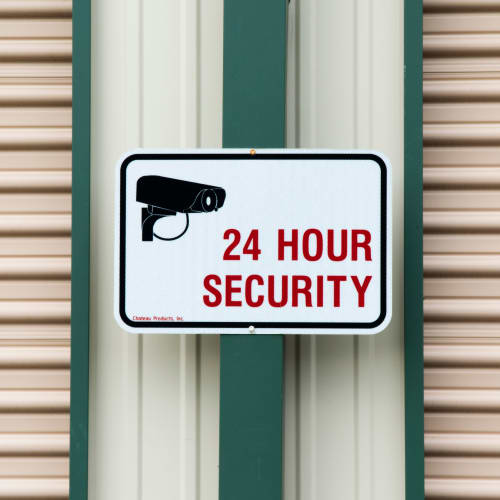 24 hour security at Red Dot Storage in Holt, Michigan