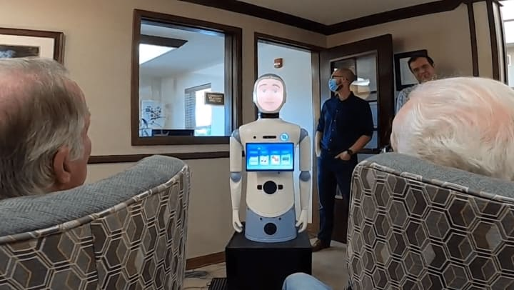Robots in memory care