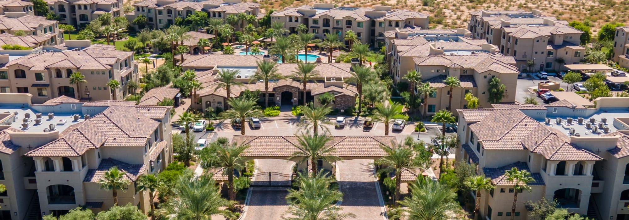 Aerial image of San Milan in Phoenix, Arizona