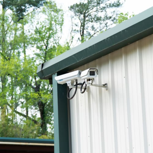 24-hour digital security cameras at Red Dot Storage in Antioch, Illinois