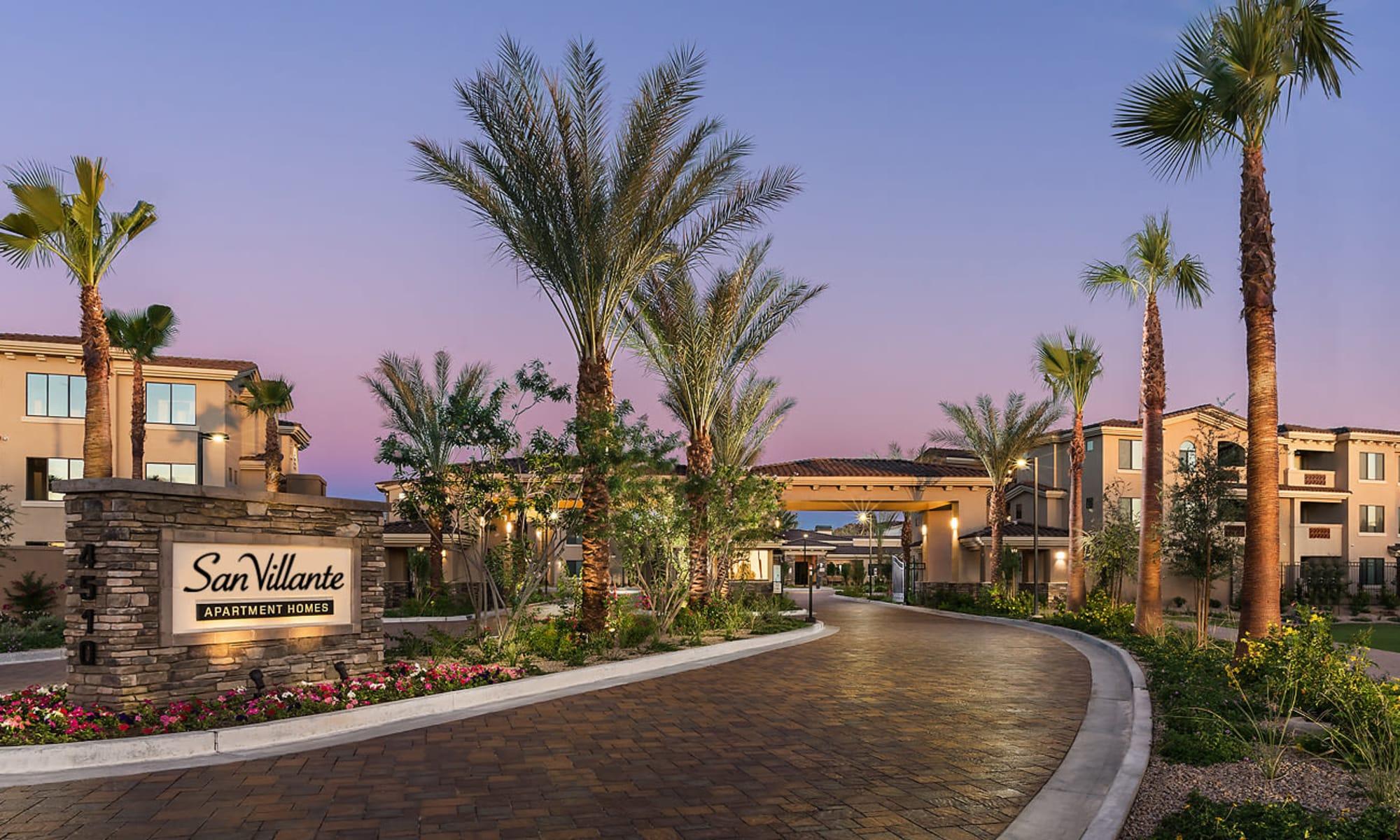 Apartments at San Villante in Mesa, Arizona