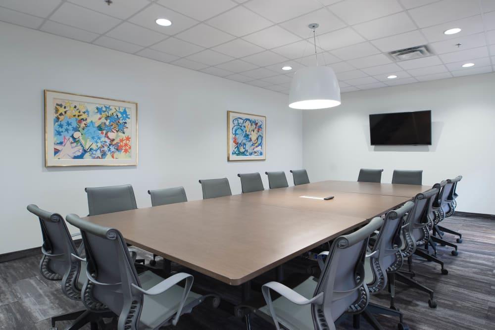 Boardrooms available at Apple Self Storage - Oakville in Oakville, Ontario