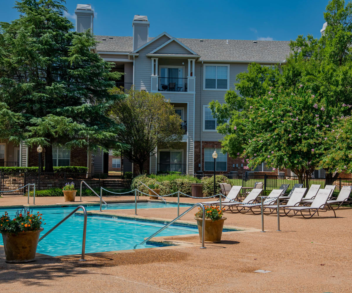 Resort style pool at Prairie Springs in Oklahoma City, Oklahoma