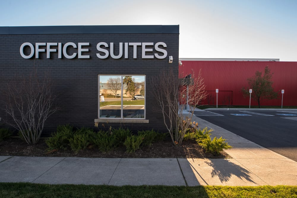 Office suites at Apple Self Storage - Oakville in Oakville, Ontario