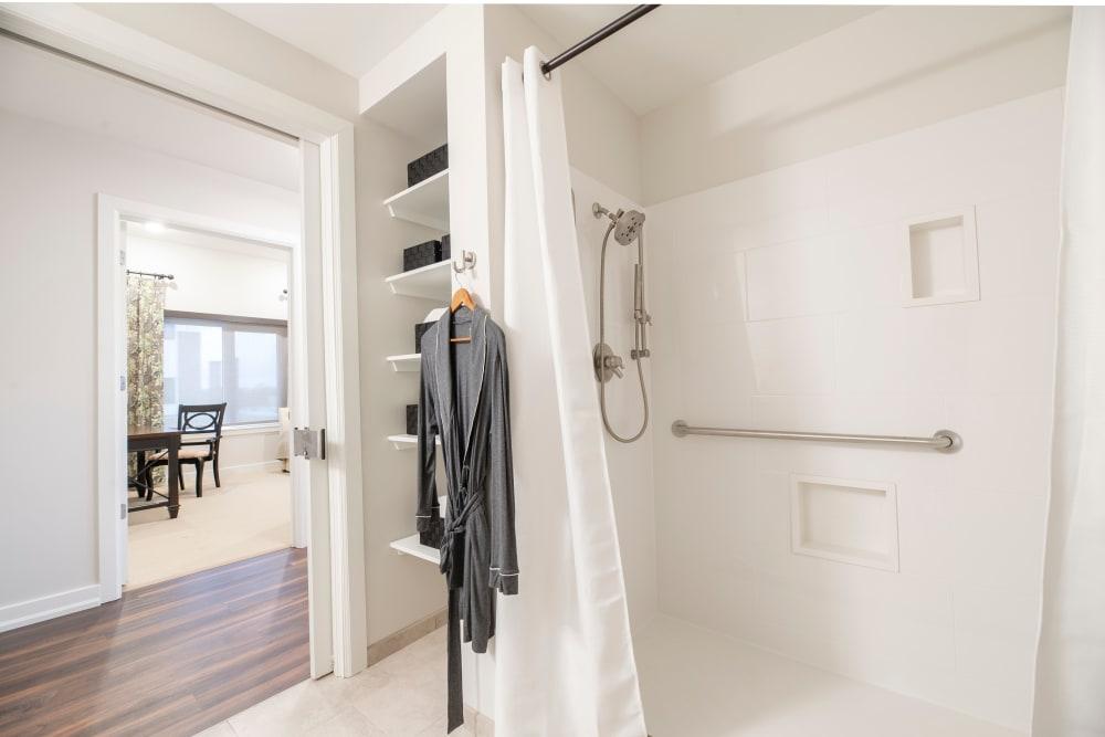 Photo of Walk-In Shower in the Bathroom
