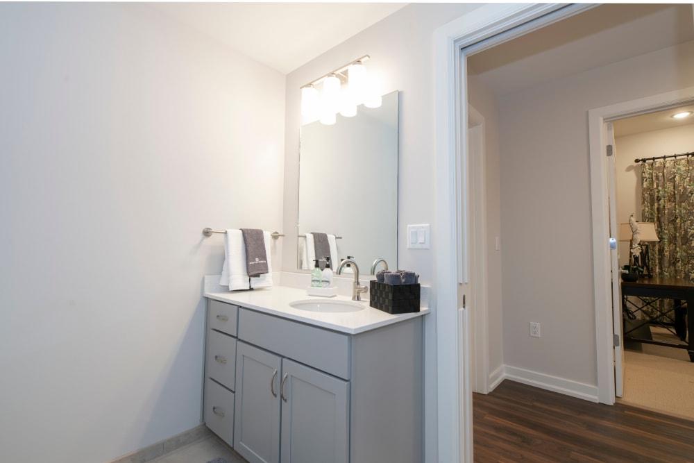 Photo of Bathroom Counter
