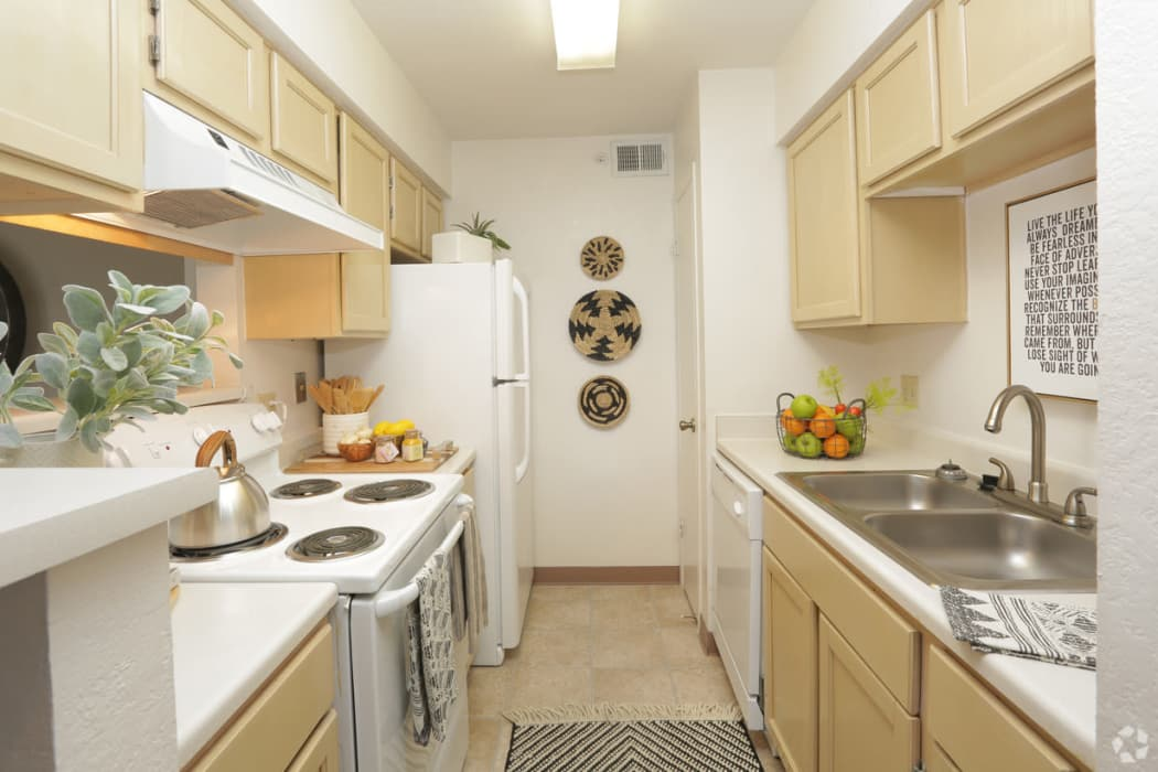 Kitchen at Shadow Ridge Apartments in El Paso, Texas