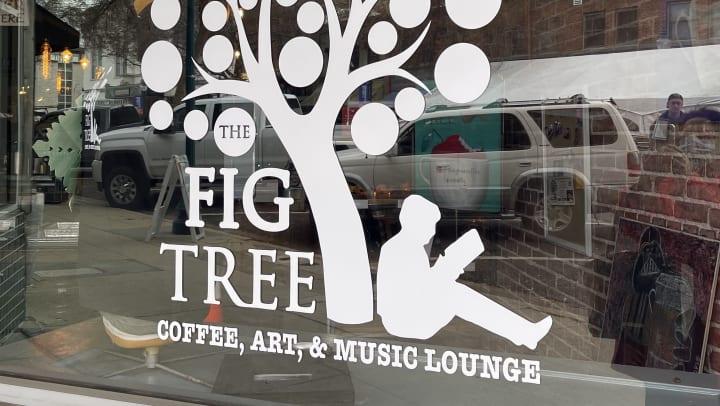 The Fig Tree Door Sign