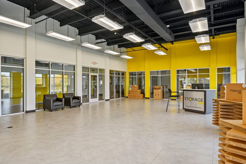 Interior of Storage 365 in Euless, Texas