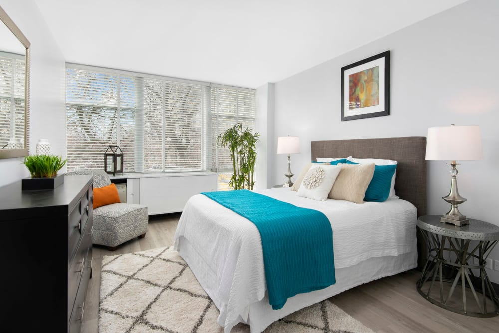Spacious Bedroom at Prairie Shores in Chicago, IL