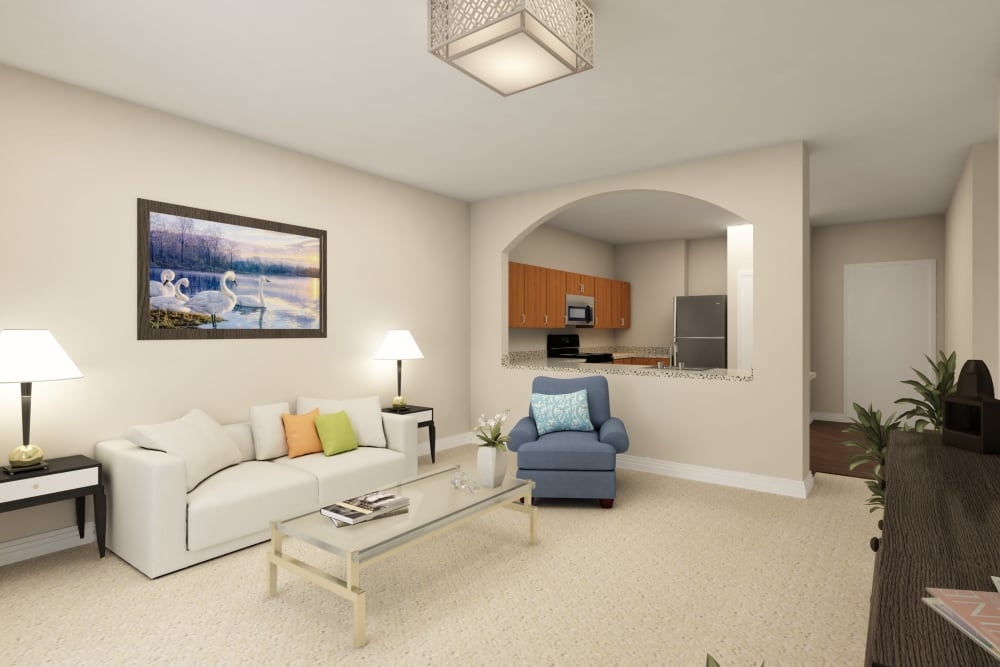 Living room at Harmony at Mt. Juliet in Mt Juliet, Tennessee