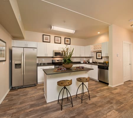 Beautiful spacious kitchen at Altamont Summit in Happy Valley, Oregon