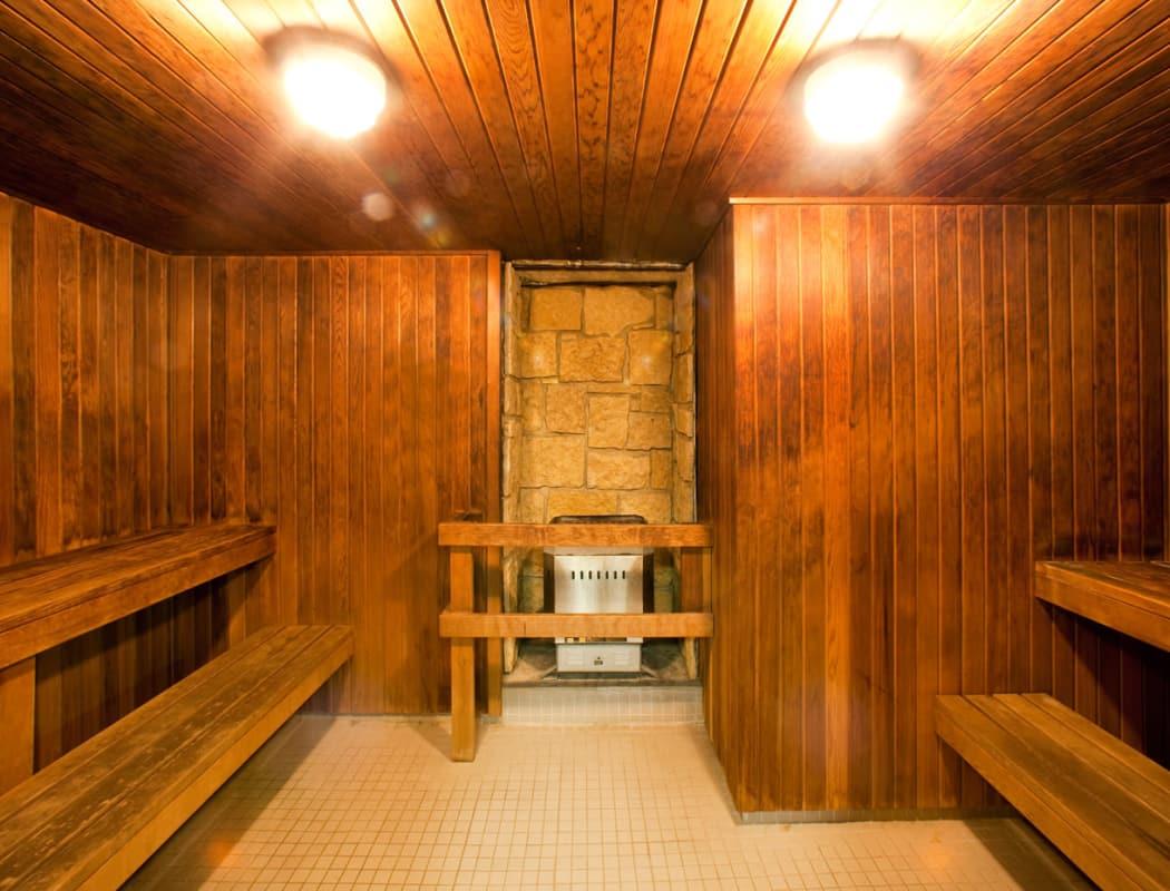 Sauna at Widdicombe Place in Etobicoke, Ontario