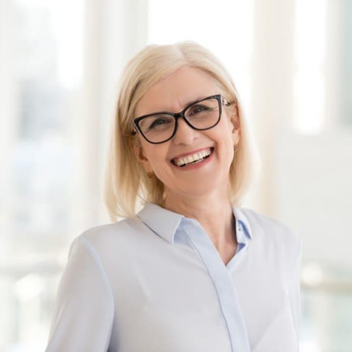 Becki Deem, Life Enrichment Director smiling at Harmony at Waldorf in Waldorf, Maryland