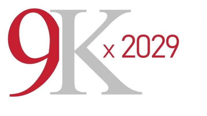 9k by 2029 logo