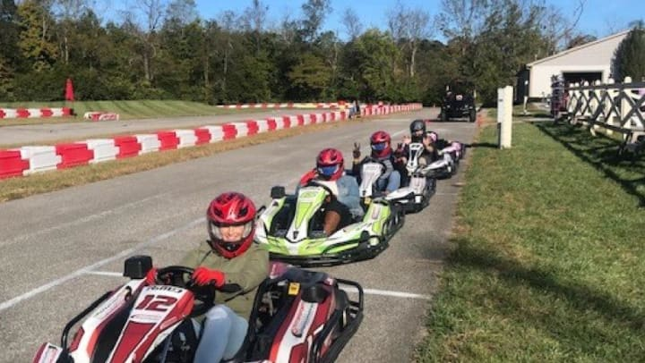 Go-kart race image