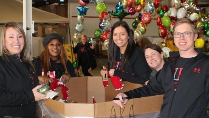 Give proud event volunteers
