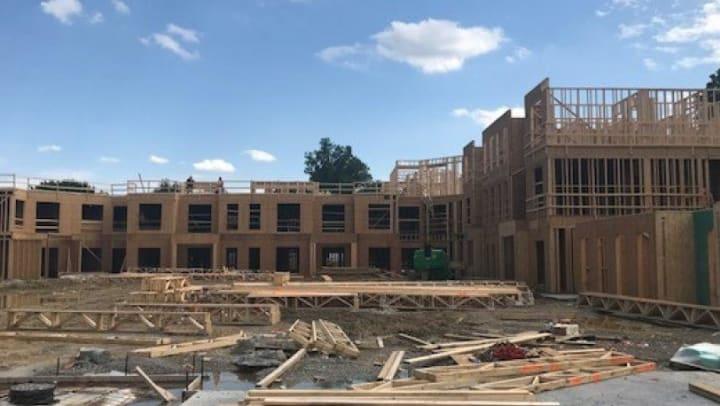 Echelon Apartments construction photo