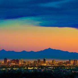 Sunset in Phoenix, AZ