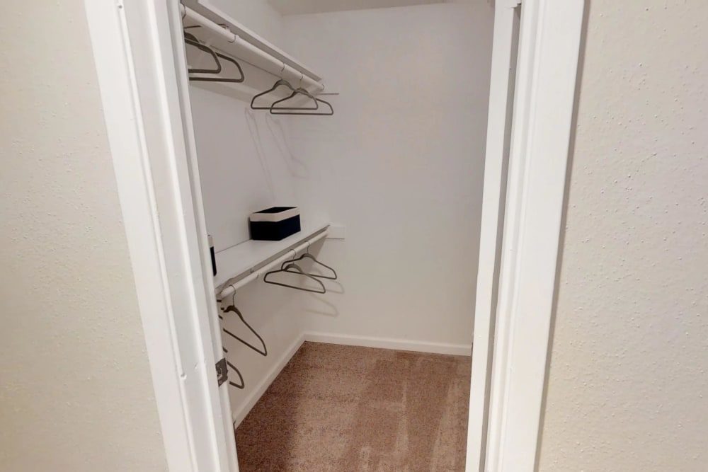 Green Meadows Apartments has walk-in closets