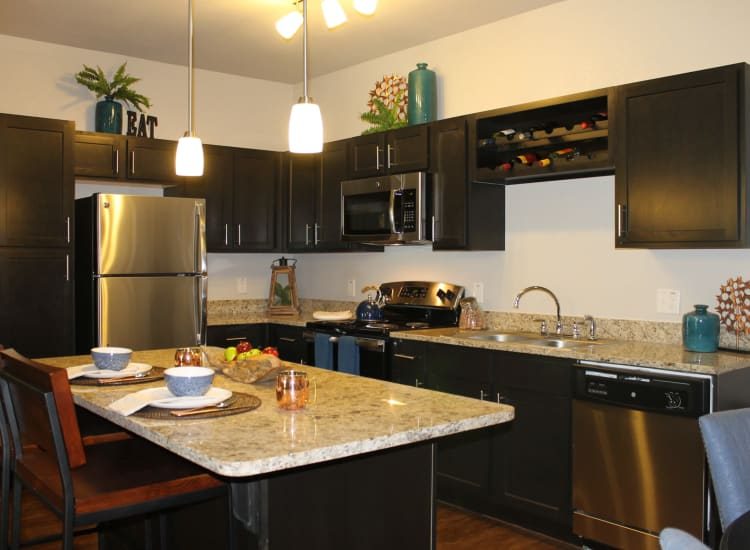 Kitchen Photo of Springs at McKinney