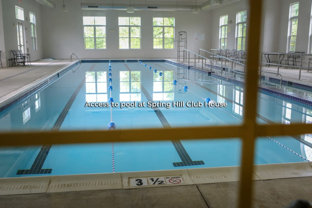 Pool accessibility is at Harmony at Spring Hill in Lorton, Virginia